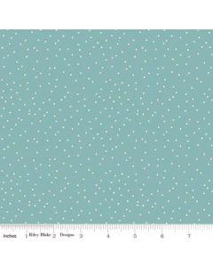 Riley Blake Edie Jane fabric - Dot Teal