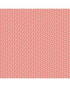 Sara Signature Sew Retro Fabric - Red Leaves