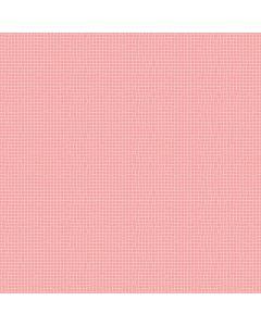 Sara Signature Sew Retro Fabric - Pink Grid