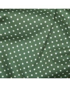 Rose and Hubble 100% Cotton Poplin - Old Green