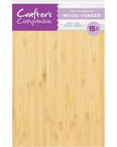 Crafter's Companion Craft Material - Self-Adhesive Wood Veneer