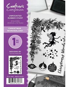 Crafter's Companion A6 Rubber Stamp - Christmas Wonderland