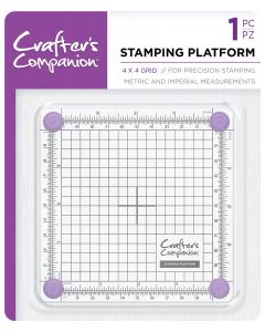 "Crafter's Companion Stamping Platform – 4""x4"""