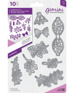 Gemini Elements Metal Die - Festive Foliage 2