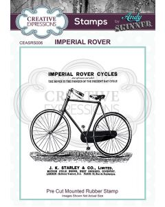 Creative Expressions Rubber Stamp by Andy Skinner - Imperial Rover