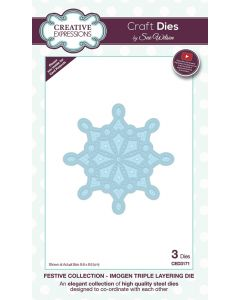 Creative Expressions Festive Collection Triple Layering Die - Imogen
