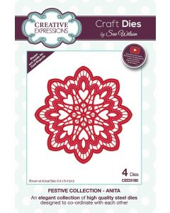 Creative Expressions Festive Collection Craft Die - Anita