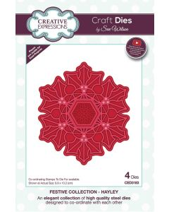 Creative Expressions Festive Collection Craft Die - Hayley