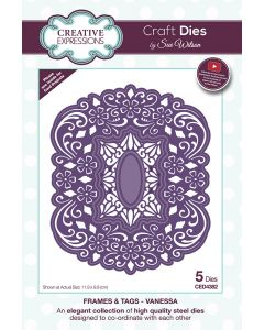 Craft Dies by Sue Wilson Frames and Tags Collection - Vanessa