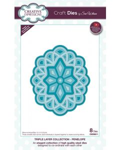 Craft Dies by Sue Wilson Triple Layer Collection - Penelope