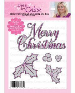 Dies by Chloe - Merry Christmas and Holly Dies