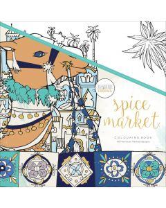 "KaiserColour Perfect Bound Coloring Book 9.75""X9.75"" - Spice Market"