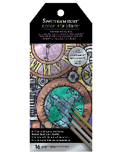 Spectrum Noir Colorista Dark Bookmark Pencil Pad - Victorian Steampunk