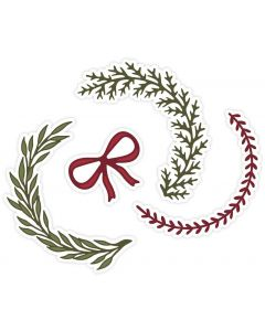 Sara Signature A Winter's Tale Metal Die - Classic Wreath