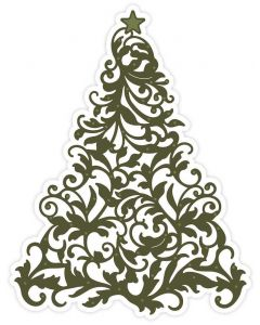 Sara Signature A Winter's Tale Metal Die - Flourishing Tree