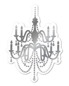 Gemini FOILPRESS Grand Chandelier Foil Stamp 'N' Cut Die Elements
