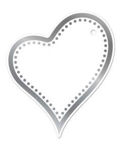 Gemini FOILPRESS Heart Tag Foil Stamp 'N' Cut Die Elements