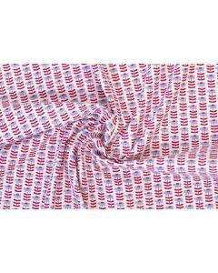 Threaders Country Yard Fabric - Pretty Daisies