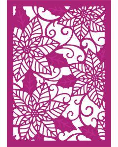 Gemini Create-a-Card Metal Die - Poinsettia Perfection
