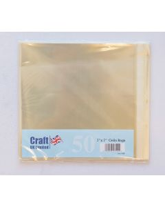 Craft UK 7x7 Cello Bags - pack of 50