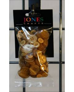 Jones and Co. Beige Buttons approx. 50g