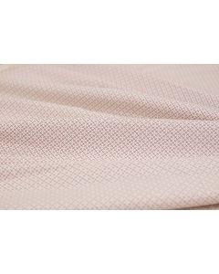 Threaders Cottage Garden Fabric - Crosshatch (White)