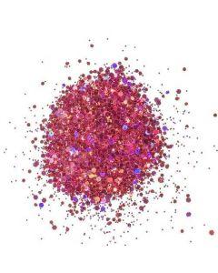 Cosmic Shimmer Holographic Glitterbitz - Cherry Red