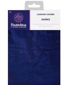 Threaders Cushion Covers - Darks