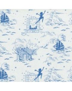 Michael Miller Fabrics Peter Pan Second Star to the Right - Wave