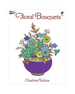 Dover Publications - Floral Bouquets Colouring Book