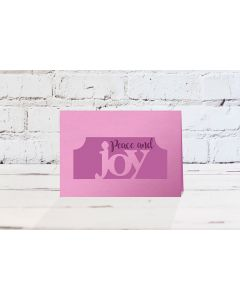 Gemini Christmas Edge'able Stamp and Die - Joy