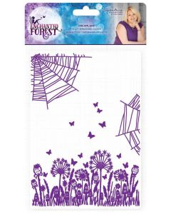 Sara Signature Enchanted Forest 5x7 Embossing Folder - Dreamland