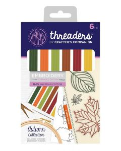 Threaders Stranded Embroidery Cotton - Autumn
