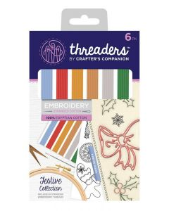 Threaders Stranded Embroidery Cotton - Festive