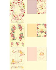 Crafter's Companion Frame Cards Kit - Fancy Florals