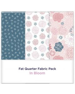 Threaders Fat Quarter Fabric Pack - In Bloom 3pc