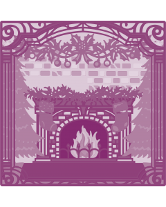 Gemini Create-a-Card Build a Scene Metal Die - Yuletide Treasure
