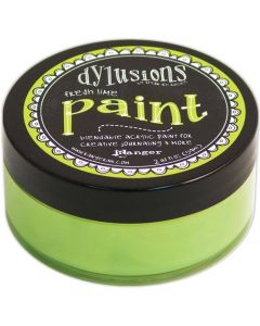 Dylusions Blendable Acrylic Paint 2oz - Fresh Lime