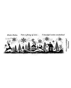 Woodware Clear Singles Stamp - Winter Wonderland