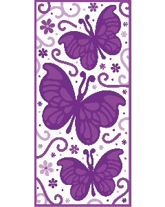 Gemini 3D Embossing Folder - Butterfly Dreams
