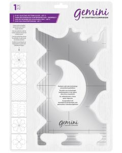Gemini 6-in-1 Quilting Pattern Guide - Set 3
