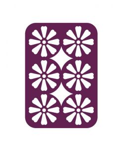 Gemini Multi Media Die - Decorative Daisy Panel