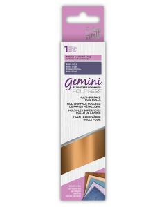 Gemini FOILPRESS Multi-Surface Foil - Rose Gold