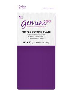 Gemini GO Accessories - Purple Cutting Plate