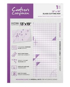 "Crafter's Companion 13"" x 19"" Glass Cutting Mat"
