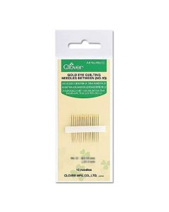 Gold Eye Quilting Needles Betweens: No. 10 (12)