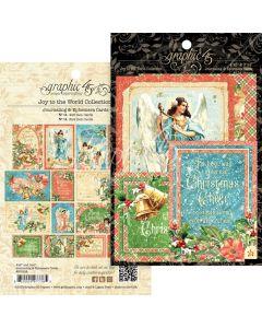 Graphic 45 Joy to the World - Ephemera Cards
