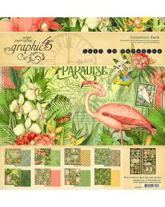 Graphic 45 Lost in Paradise - 12x12 Collection Pack