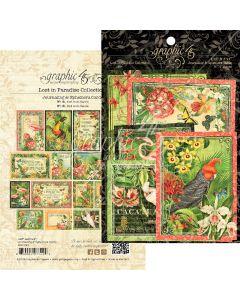 Graphic 45 Lost in Paradise - Ephemera Cards