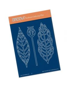 Claritystamp Funky Foliage A6 Plate